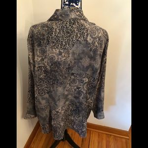 Lane Bryant Tops - Lane Bryant Floral Button Front Top Sz 18/20 NWT